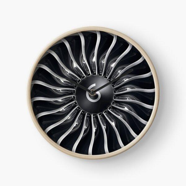 GE90 Jet Engine Clock