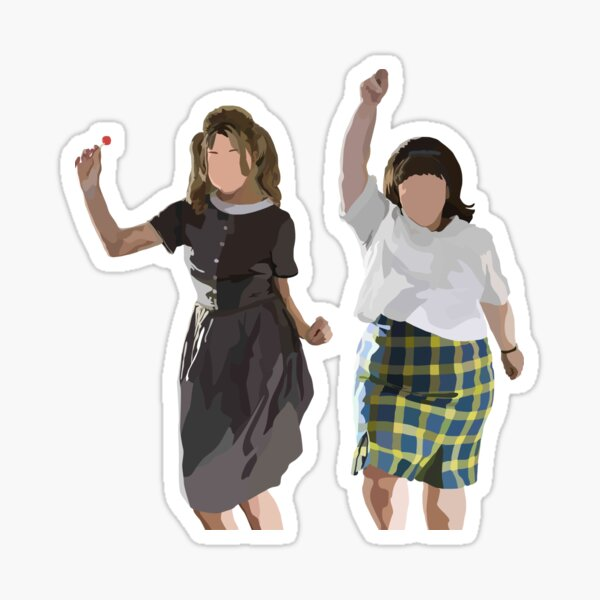 Tracy and Penny (Hairspray) Sticker