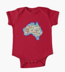 Pictorial Australia T-Shirt Kids Clothes