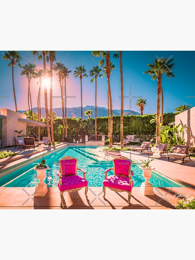 Affluent Opulent Luxe Style 2381 Mid-Century Modern Palm Springs Architecture by neptuneimages