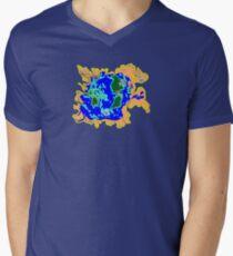 World Watersheds  Men's V-Neck T-Shirt