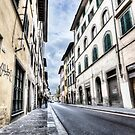 Florence Streets (Italy) by Marc Garrido Clotet