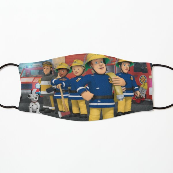 Fireman Sam Design Kids Mask