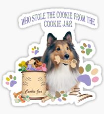 who stole the cookies from the cookie jar? Sticker
