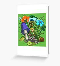 Legend of Zelda: Minish Cap Greeting Card