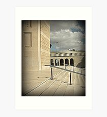DETAIL OF THE CHURCH OF SAINTS PETER AND PAUL IN ROME Art Print