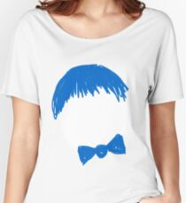 The Man With Blue Bow Women's Relaxed Fit T-Shirt