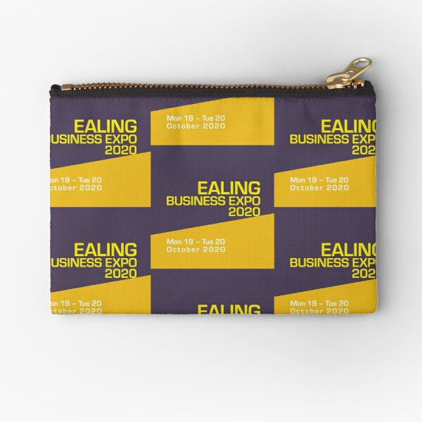 Proud to support Ealing Business Expo 2020 Zipper Pouch