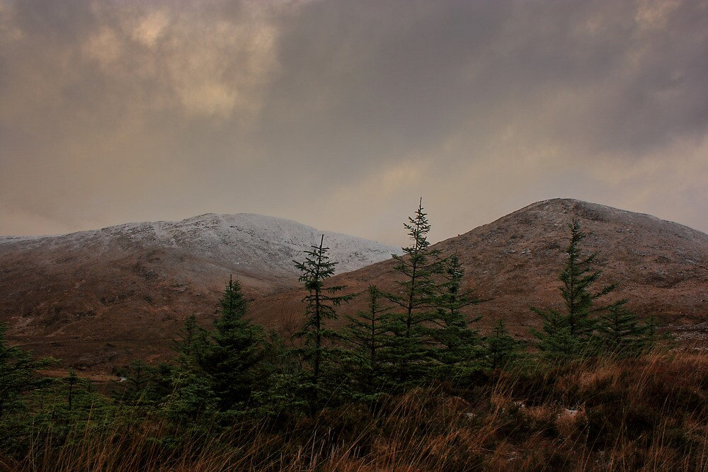 Browns Hill and Croaghnageer by Adrian McGlynn
