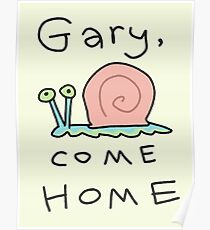 Póster Gary, come home!