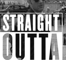 Straight Outta Pawnee Sticker