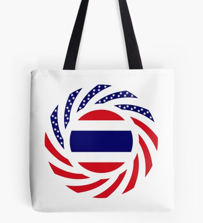 Thai American Multinational Patriot Flag Series Tote Bag