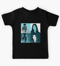 Clara Oswald in Warhol Monochrome Kids Clothes