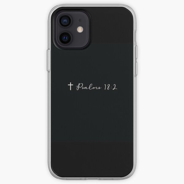 Psalms 18:2 iPhone Soft Case