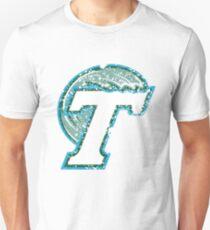 Distressed Tulane Green Wave Logo Unisex T-Shirt
