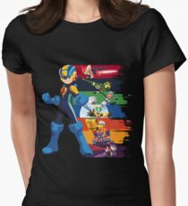 Megaman: Souls of a Hero V2 Women's Fitted T-Shirt