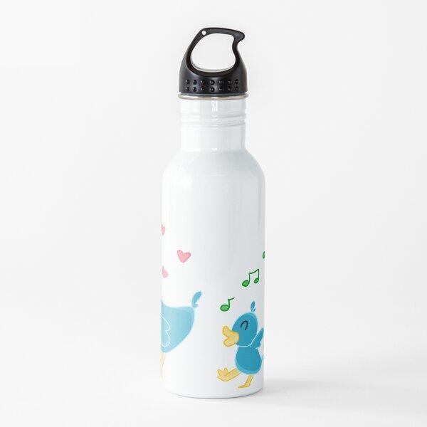 """""""Exploradores de mamá"""": Las aventuras de un pato y sus bebés Botella de agua"""