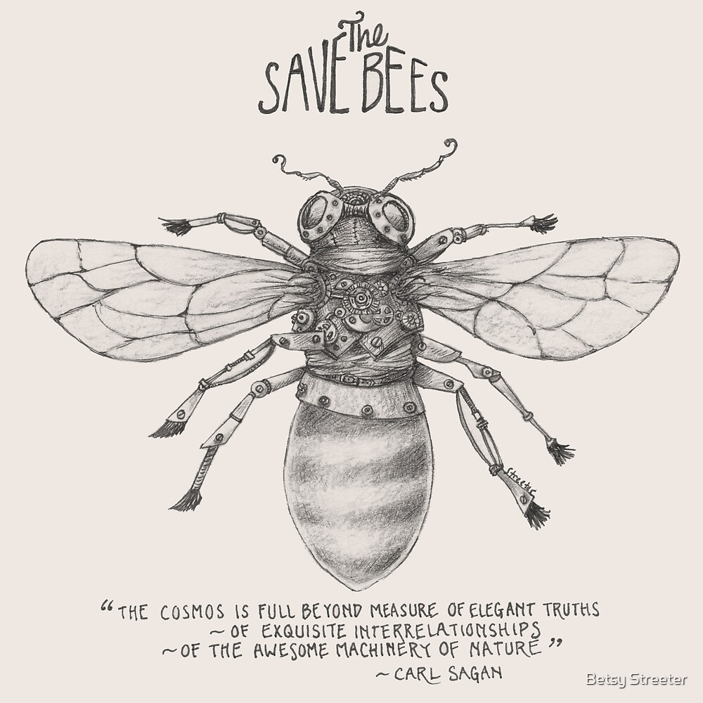 Steampunk - Save the Bees by Betsy Streeter