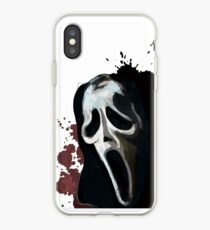 Scream Horror Movie iPhone Case