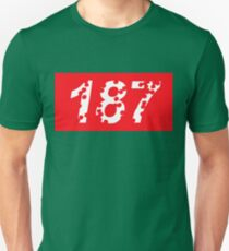 187 Bullet Holes Supreme | FreshThreadShop.com Unisex T-Shirt
