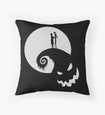 Tim Burton and Chill Throw Pillow