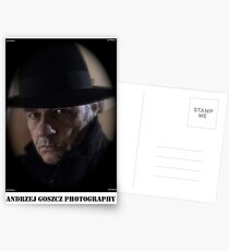 Andrzej Goszcz  (Brown Sugar) Photography. Self portrait. Postcards