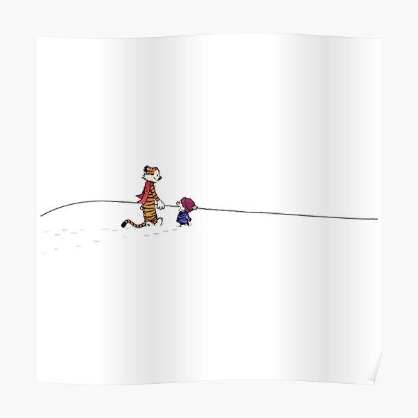 Le Calvin et Hobbes Bill Watterson Poster