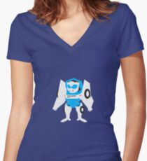 Tailgate Women's Fitted V-Neck T-Shirt