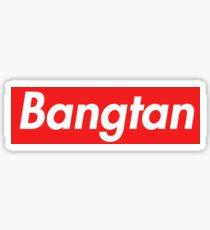 Supreme Bangtan Sticker