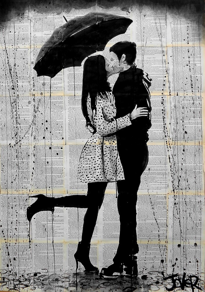 Quot One Day Quot By Loui Jover Redbubble