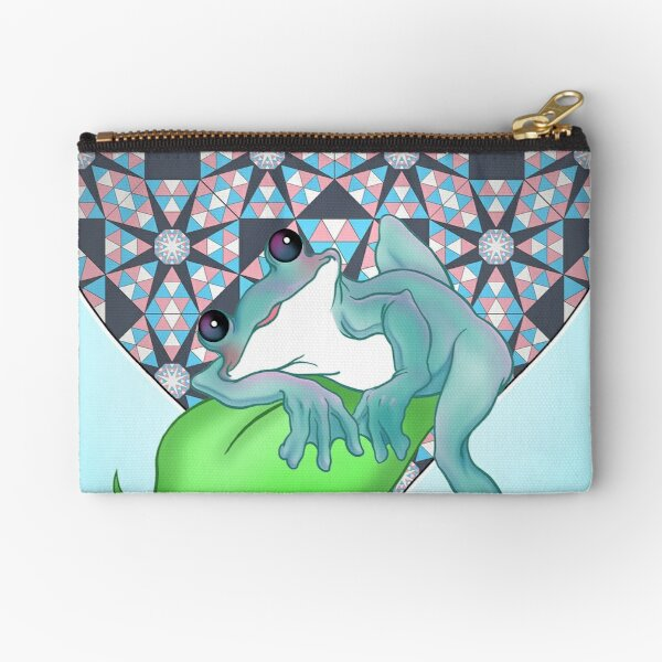 Taylor [blue] Zipper Pouch