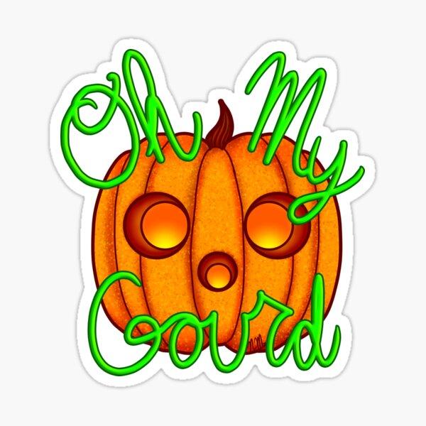 Oh My Gourd Sticker