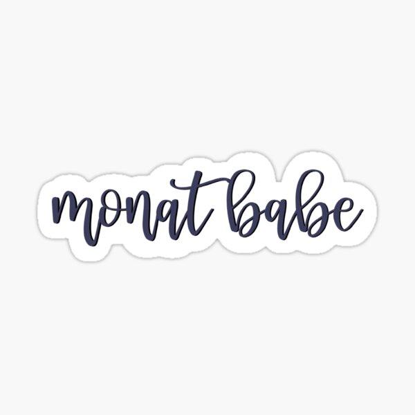 MONAT Babe Print Sticker
