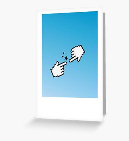 Hand of God VRS2 Greeting Card
