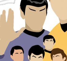 Star Trek Crew Sticker