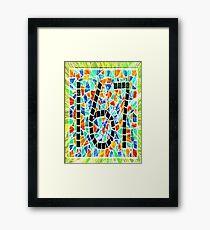 167 Framed Print