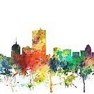 Boston, Massachusetts Skyline SP von Marlene Watson
