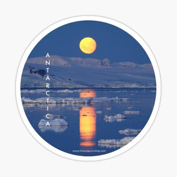 Polar Moonrise Sticker