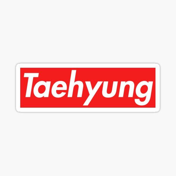 Taehyung Supremo Pegatina