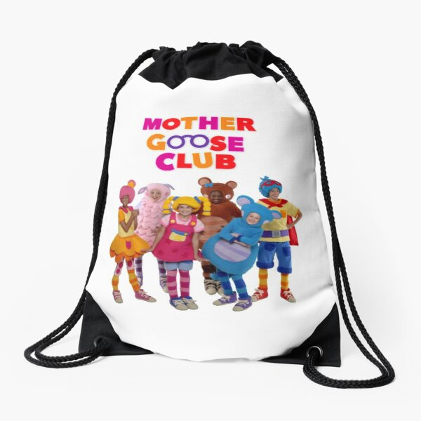 Mother Goose Club Drawstring Bag