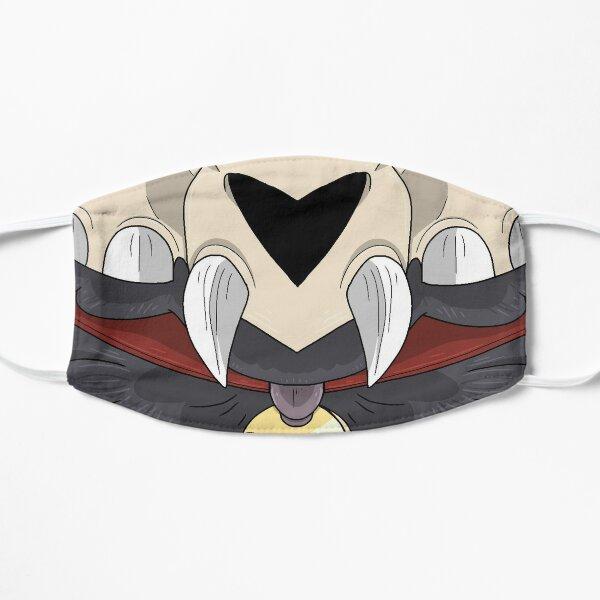 Máscara de la casa del búho - Rey Mascarilla plana