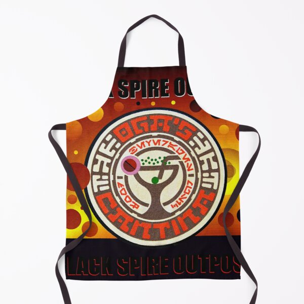 Oga's Cantina planets and moons design Apron
