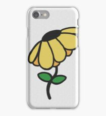 A Canvas Flower iPhone Case/Skin