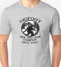 Bigfoot Hide and Seek Champion Since 1967  Unisex T-Shirt