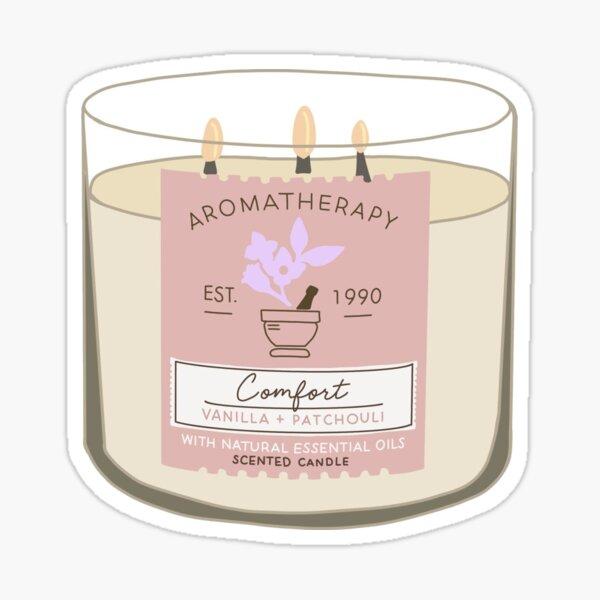 Comfort Aromatherapy Candle Sticker