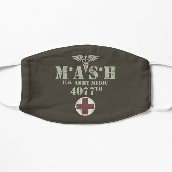 MASH (distressed design) Mask