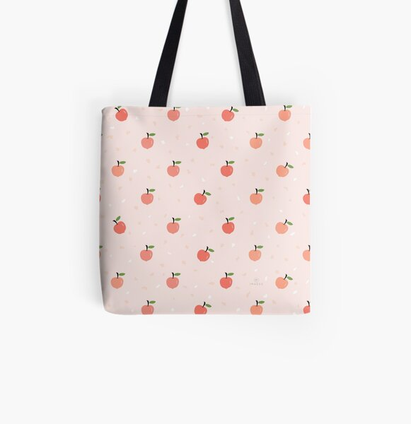 AFE Apricot pattern  All Over Print Tote Bag
