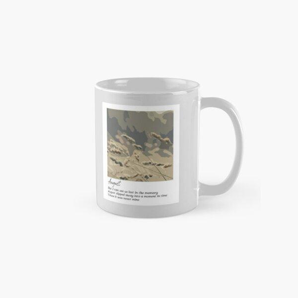 August - Taylor Swift Classic Mug