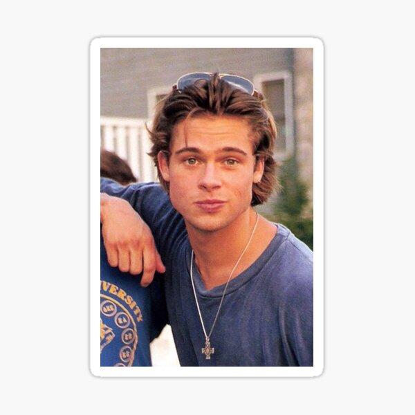 Brad Pitt antiguo Pegatina