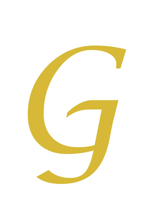 Calligraphy Letter G Photographic Prints By Richard